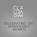 Claudia Chan - Celebrating 100 Remarkable Women - Jennifer Macaluso-Gilmore